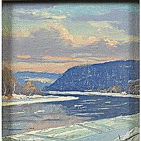 Alfred Nunamaker (American, 1915-1988); Untitled;