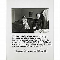 Jim Goldberg (American, b. 1953); Untitled (I keep