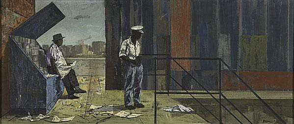Thomas Yerxa (American, 1923-2004) Untitled, 1955;