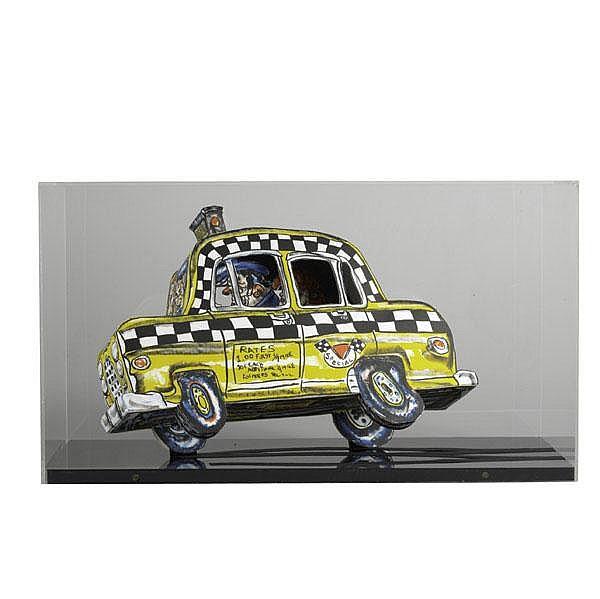 Red Grooms (American, b. 1937) Ruckus Taxi, 1982;