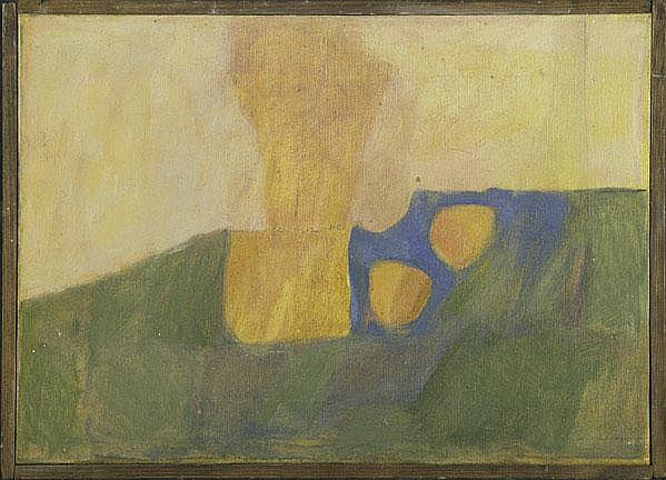 James Bishop (American, b. 1927) Untitled, 1957;