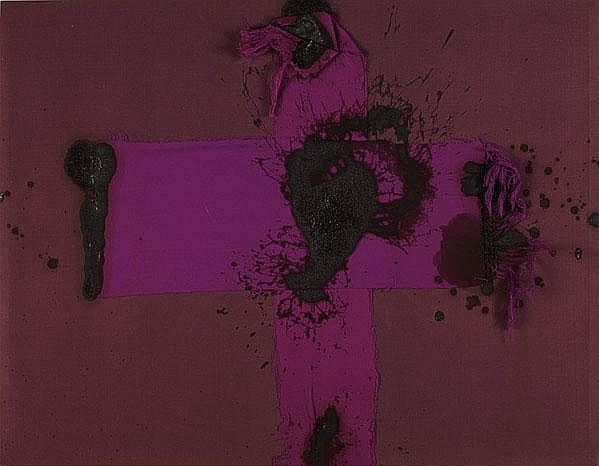 Michael Tracy (American, b. 1943) Cruz de sangre