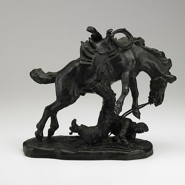 CHARLES A. BEIL (American, 1894-1976); Bronze