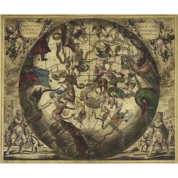 PIETER SCHENK (Dutch, 1660-1719); Two hand-colored