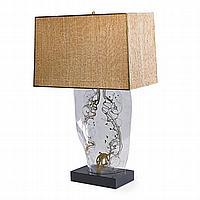 ZAHARA SCHATZ (1916 - 1999); Table lamp, USA,
