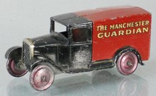 DINKY 28C THE MANCHESTER GUARDIAN DELIVERY VAN