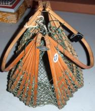 Bamboo & Netting Basket from Japan