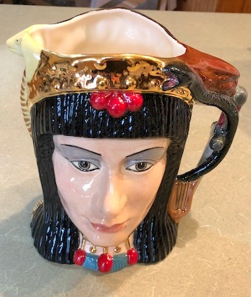 1984 Royal Doulton Anthony & Cleopatra Double Faced Toby Pitcher