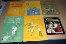 (5) 1950's Japanese & American Coloring Books and Customs Books