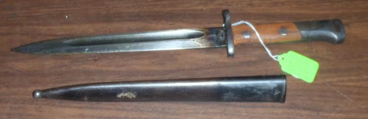 WWII 8mm Mauser Bayonet