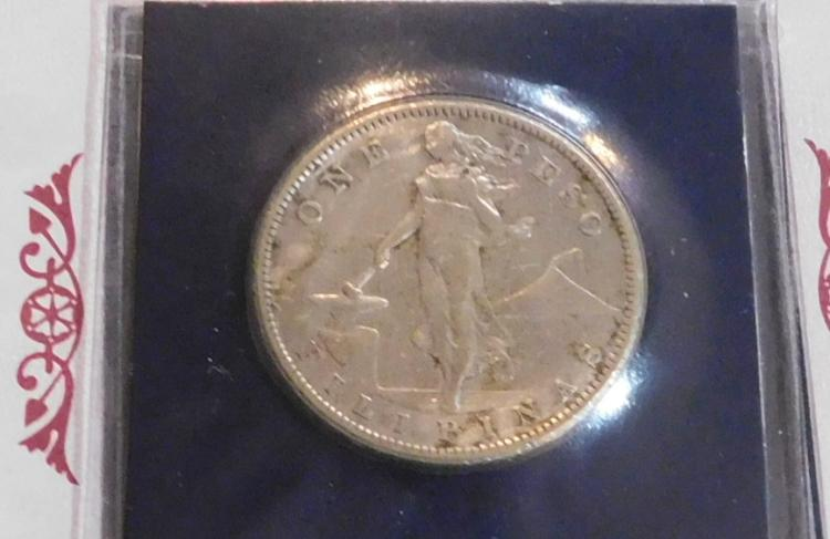 Rare 1907 Minted Silver Dollar from San Francisco Mint