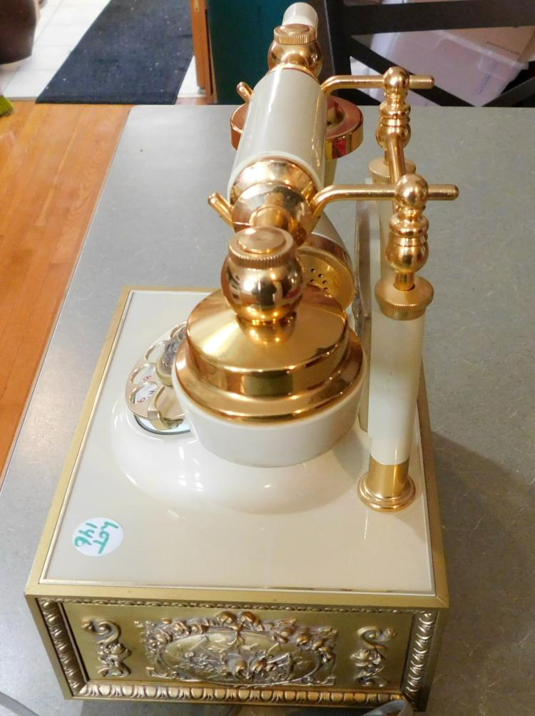 Western Electric Rotary Continental Cradle Phone