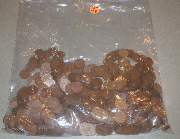 how to clean wheat pennies