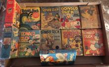 (11) 1940's Wartime Walt Disney Donald Duck Little Big Size Books-All Different