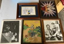(5) Rare Walt Disney Collectables