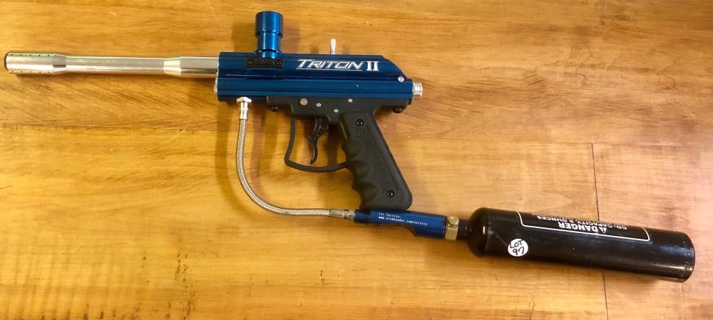 ROGERS ARMS-TRITON II PAINT BALL GUN
