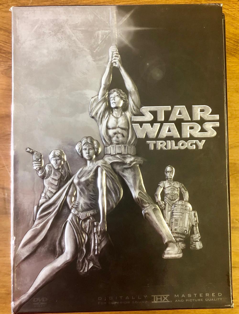 2004 STAR WARS TRILOGY WIDESCREEN DIGITAL (4) DVD SET