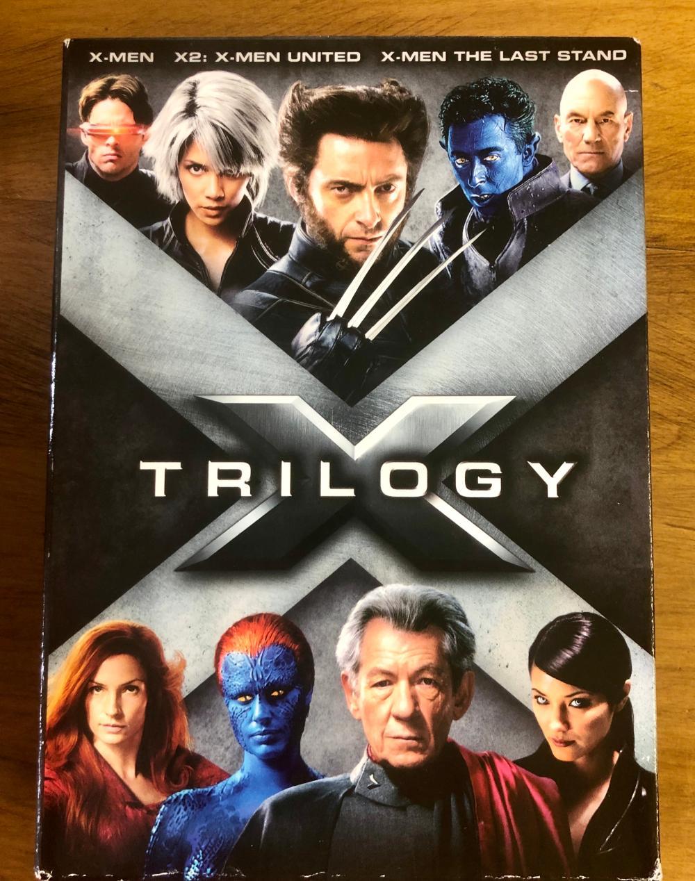 2006 X-MEN TRILOGY MARVEL & 20TH CENTURY FOX (3) DVD SET