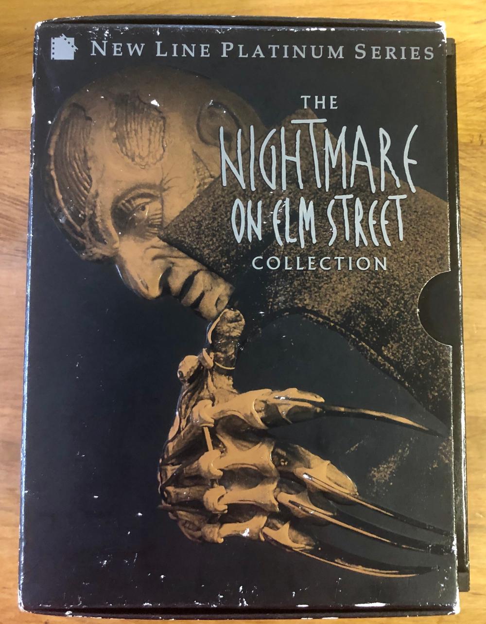 1999 NIGHTMARE ON ELM STREET PLATINUM SERIES (8) DVD COLLECTION SET