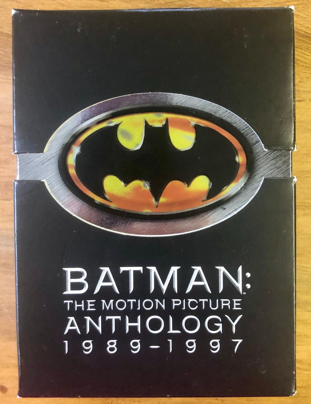 2005 DC COMICS BATMAN MOTION PICTURE ANTHOLOGY (8) DVD SET