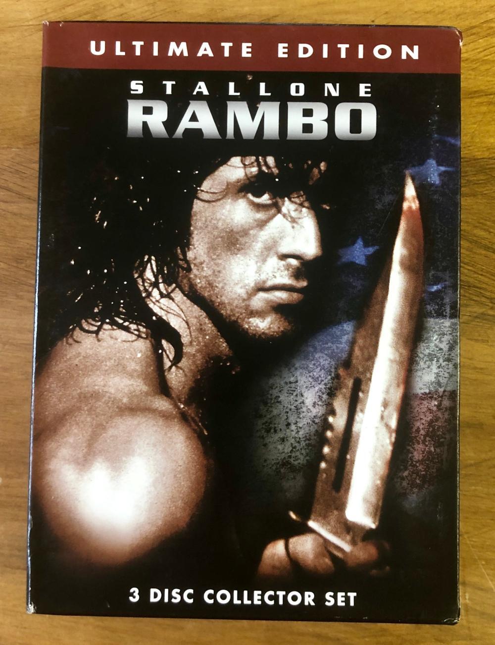 1988 RAMBO ULTIMATE (3) DVD SET