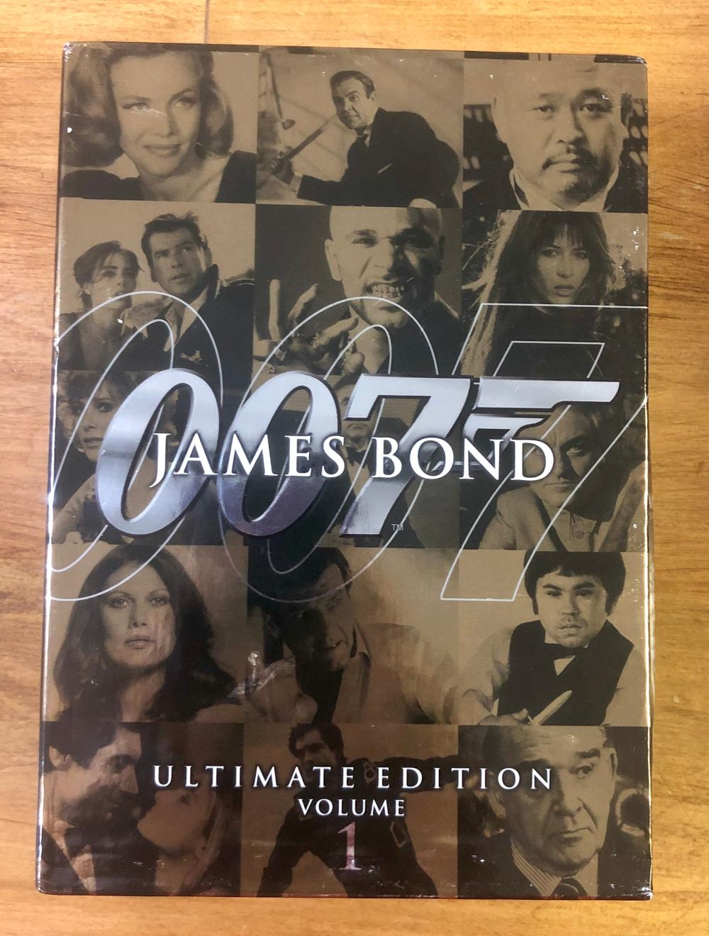 2006 20TH CENTURY FOX 007 JAMES BOND (10) DVD ULTIMATE EDITION SET