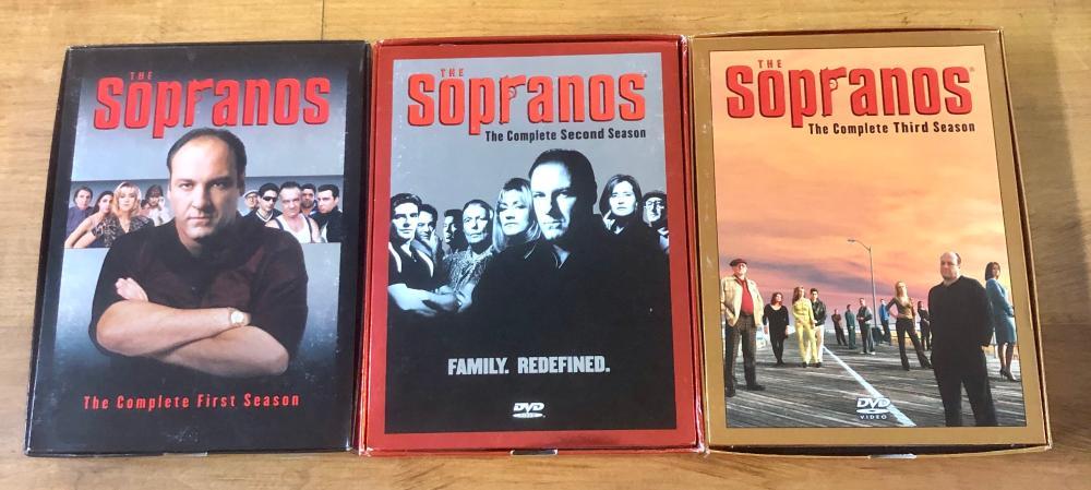 CIRCA 2000'S THE SOPRANOS COMPLETE SERIES I, II & III