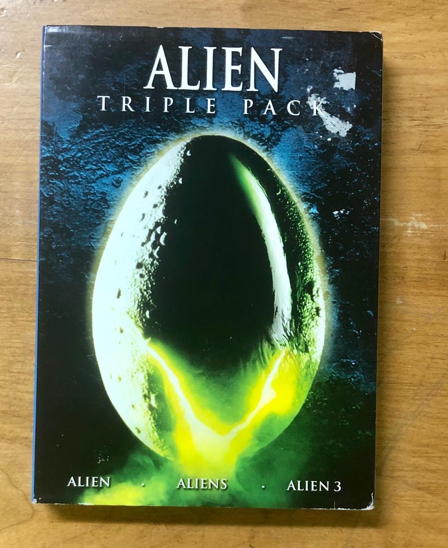 2008 20TH CENTURY FOX ALIEN MOVIES TRIPLE PACK (3) DVD SET