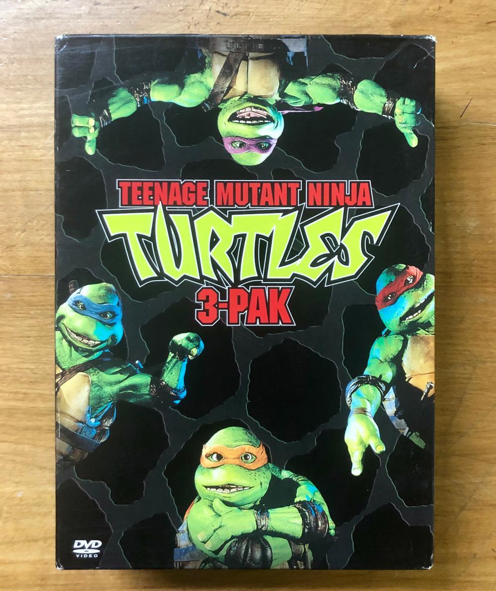 1990'S TEENAGE MUTANT NINJA TURTLES (3) DVD BOX SET