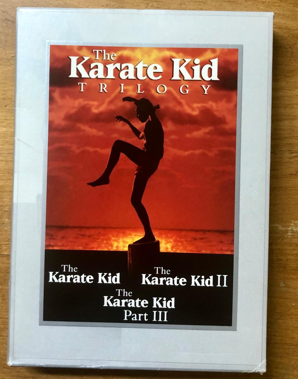 2008 COLUMBIA PICTURES KARATE KID (3) DVD TRILOGY SET