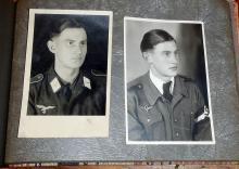 German Military Man's Photo Book
