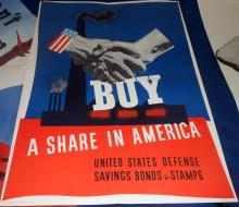 1941 U.S. Government Printing Office Poster