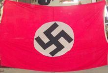 flag w/circle and swastika