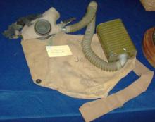 US Army service gas mask