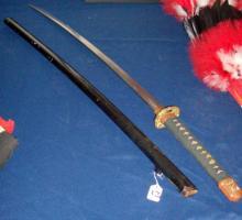 Japanese Samurai Ninja sword.