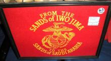 ? From the Sands of Iwo Jima to the Sands of Saudi Arabia (Semper Fi) & French Tam hat