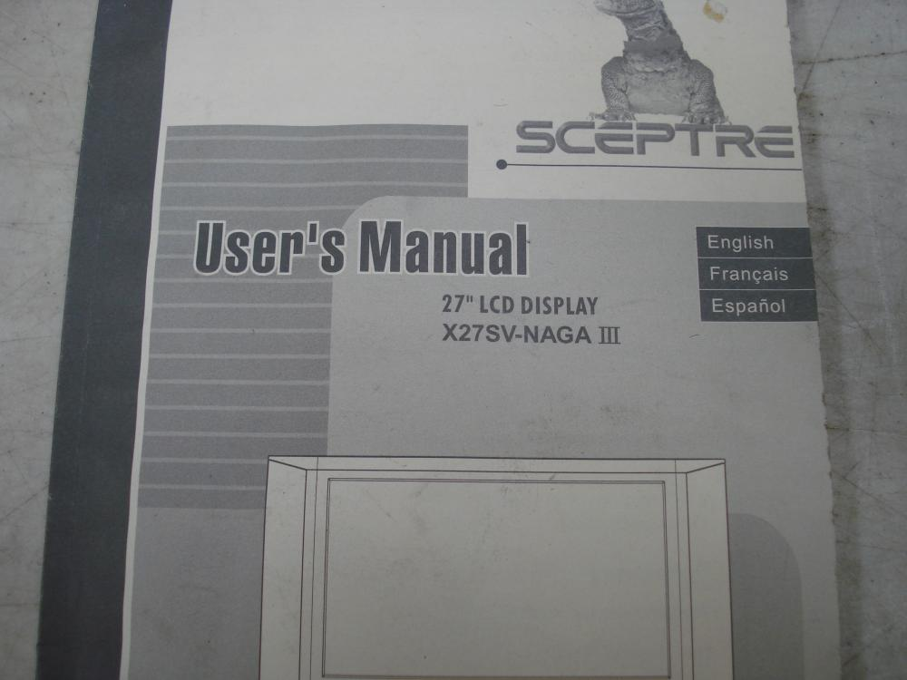 Sceptre 27