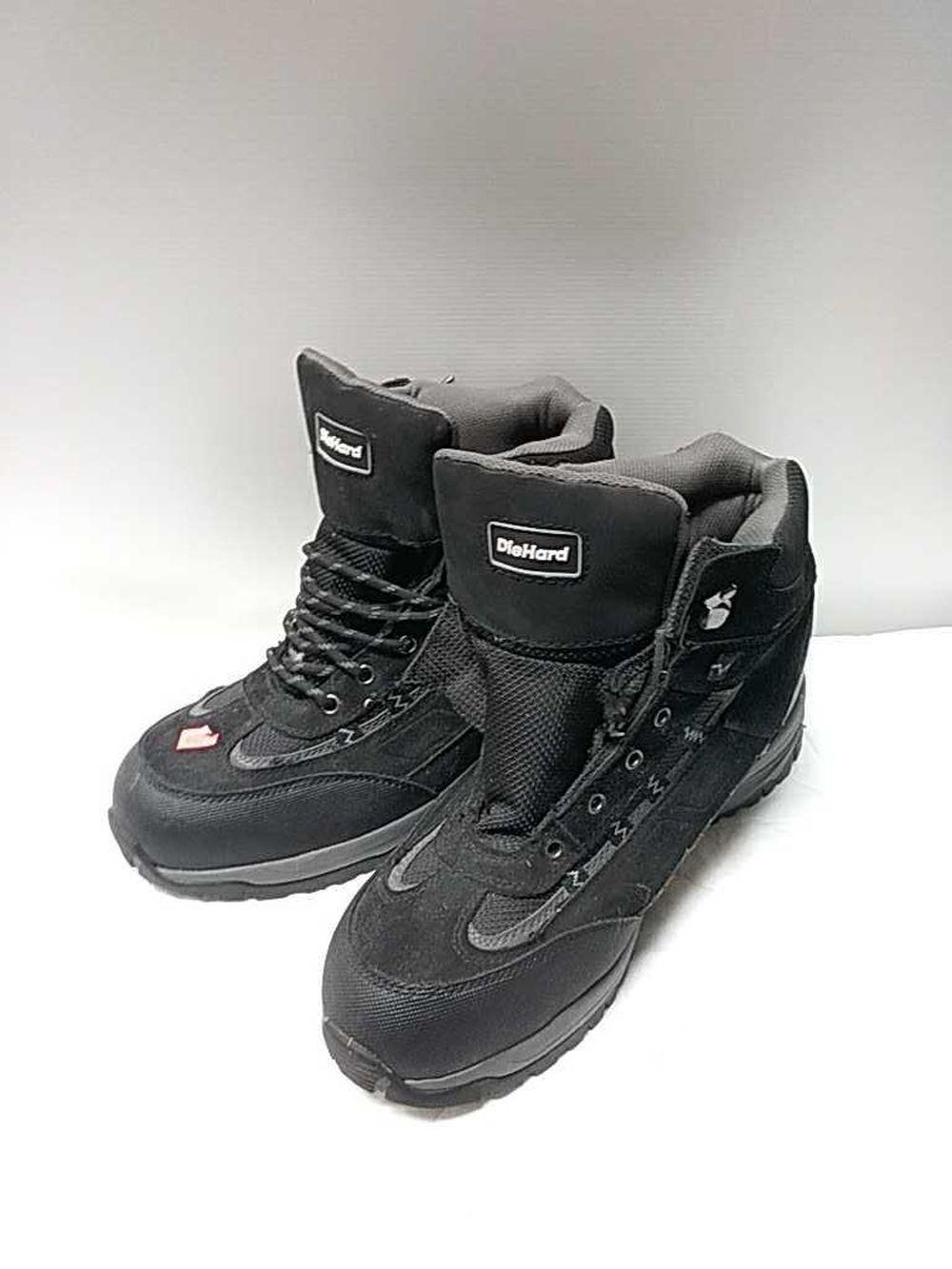 Diehard Steel toe boots - Invalid date MST