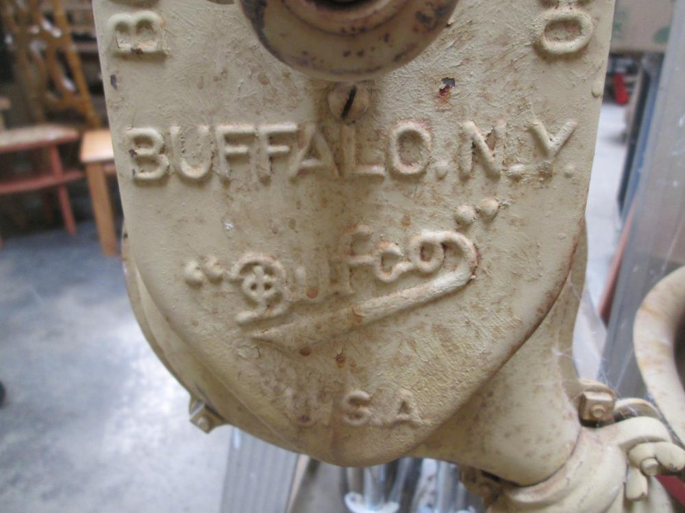 Buffalo Forge Vintage Blower Upright Grill
