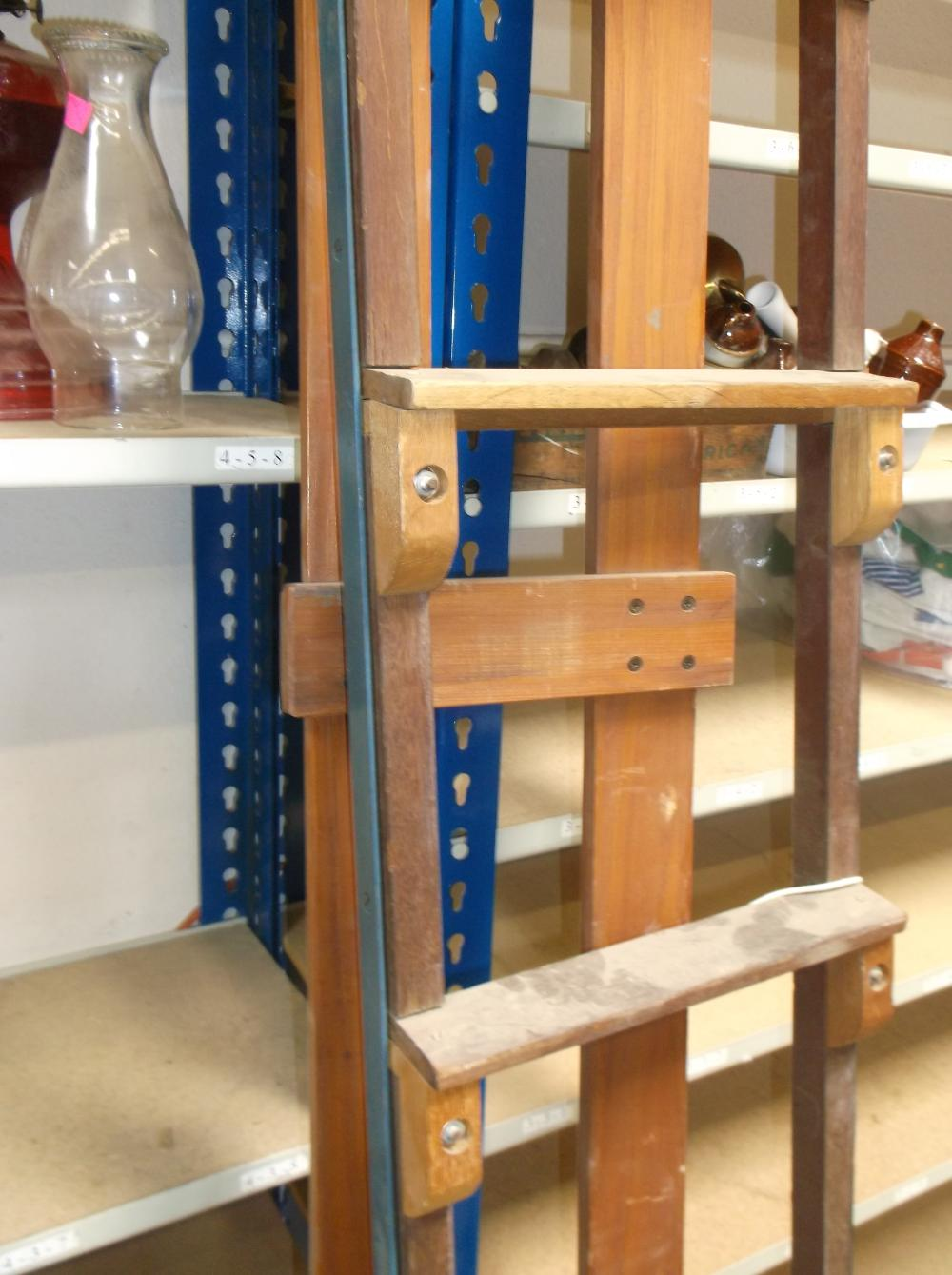 Solid Wood And Metal Bunk Bed Ladder Rail