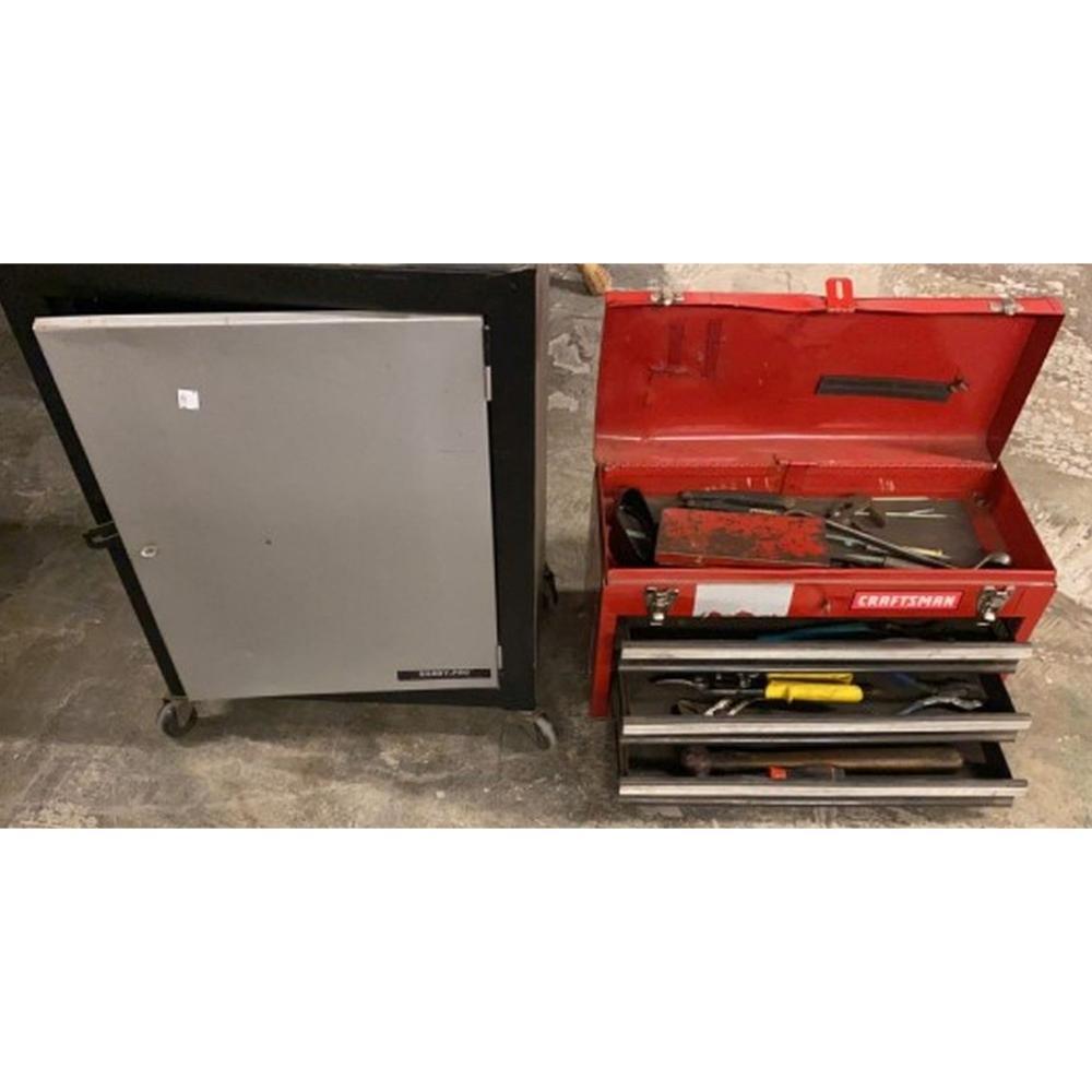 Craftsman Tool Box w/tools, Xbox 1 Controllers