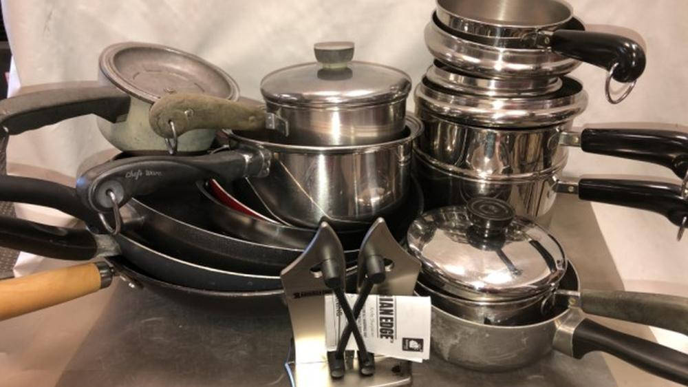 Pots & Pans, Copper bottom pots