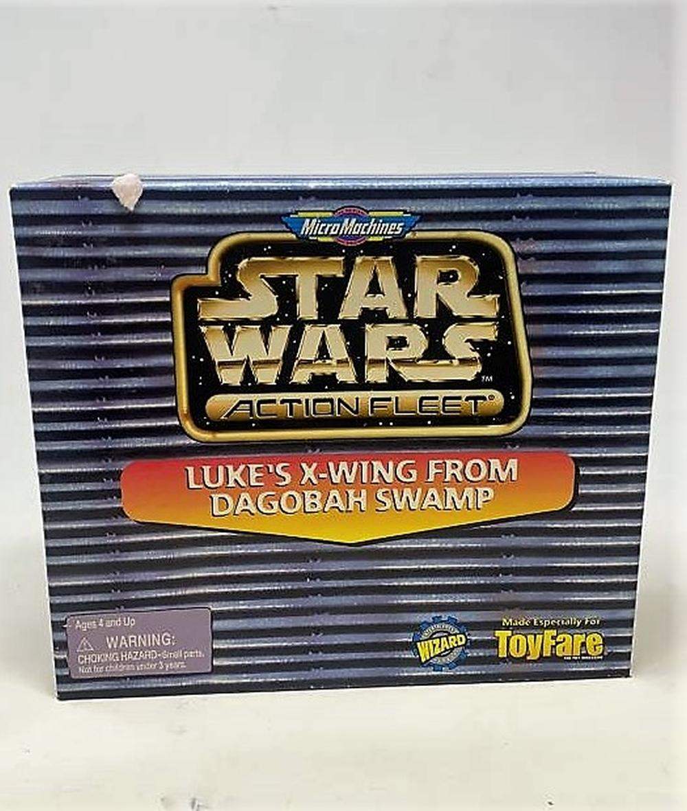 Micro Machines Star Wars Action Fleet Luke/'s X-Wing From Dagobah Swamp ToyFare