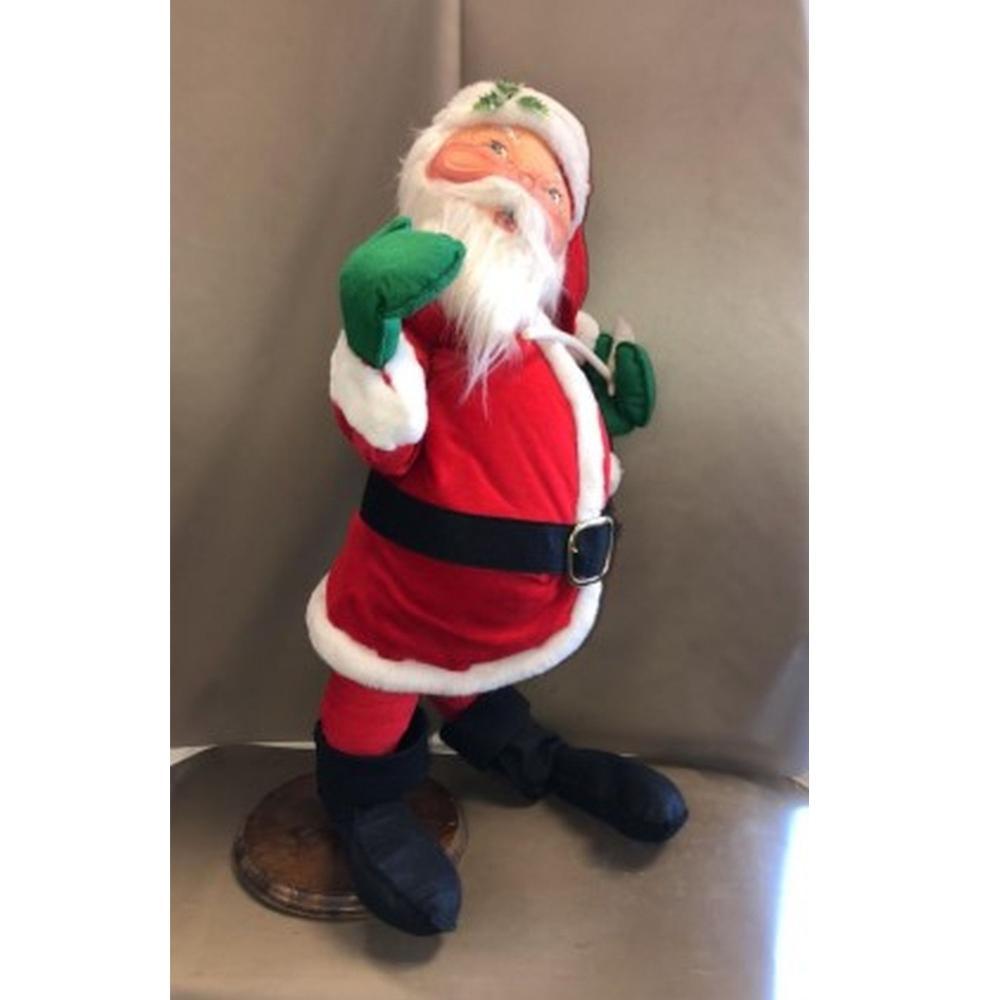 30 inch 1987 Mr. Santa Annalee Mobilitee Doll