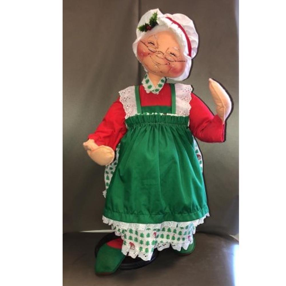 30 inch 1987 Mrs. Claus Annalee Mobilitee Doll