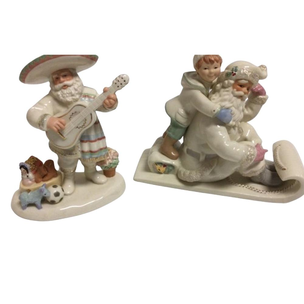 Lenox Christmas Porcelain Holding on for the Holi-