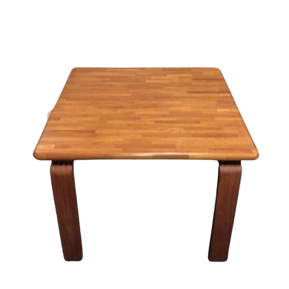 Mid Century D-Scan Side Table