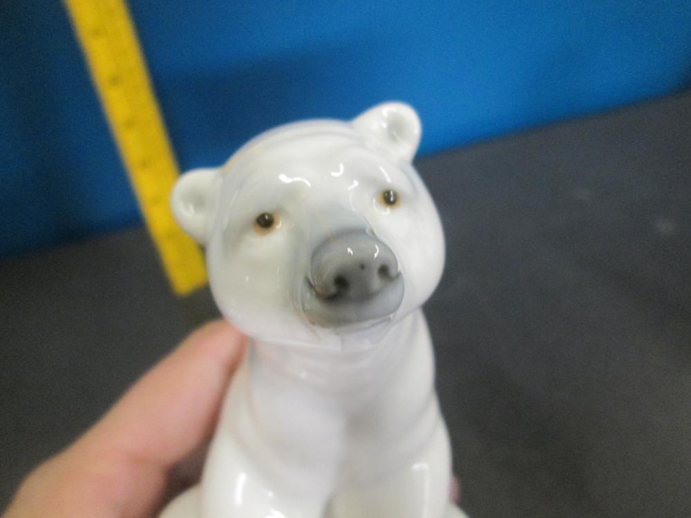 Sold Price Lladro Resting Polar Bear Figurine 1972 By Juan Invalid Date Mst