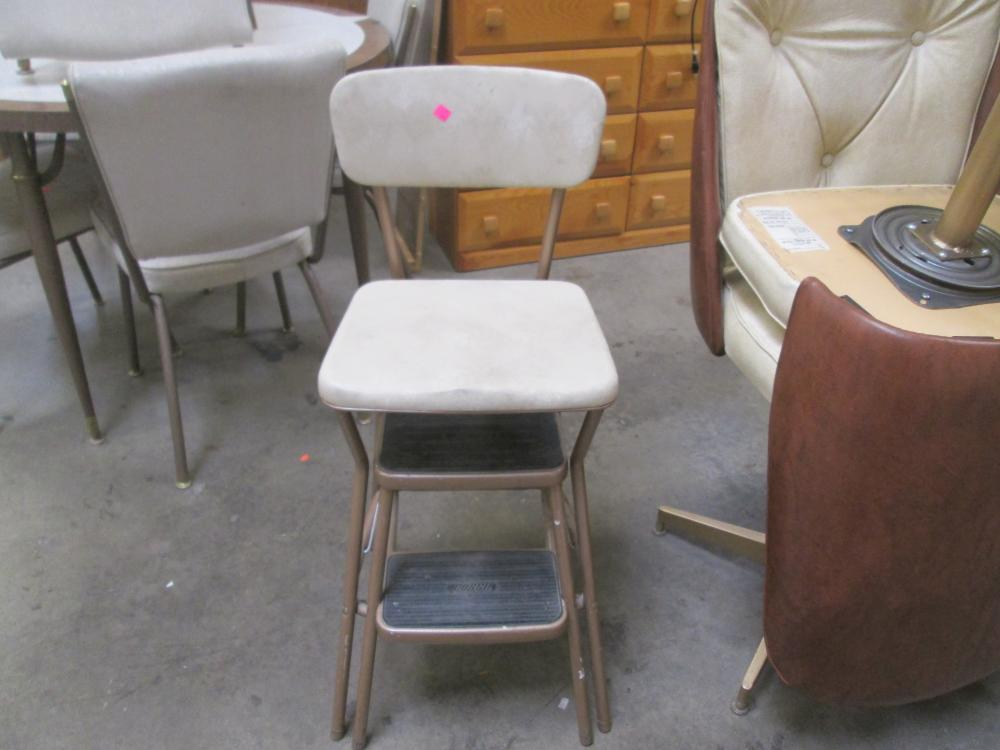 Strange Cosco Light Brown Retro Counter Chair Step Stool Unemploymentrelief Wooden Chair Designs For Living Room Unemploymentrelieforg
