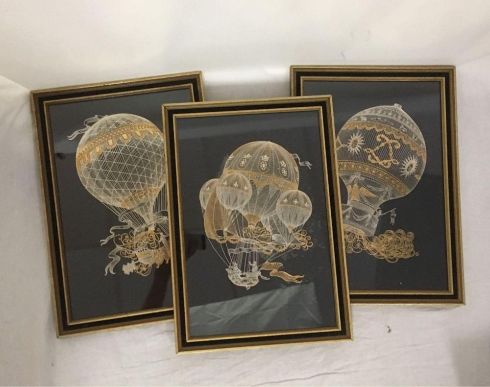Yves Beaujard Silver and Gold Engraving Set by The Franklin Mint 1983